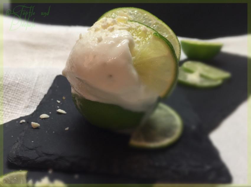 Joguhrt-Limetten-Eis