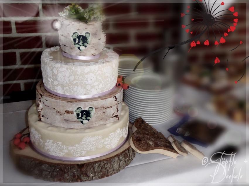 Unendliche Geschichte Entstehung Meiner Ersten Hochzeitstorte