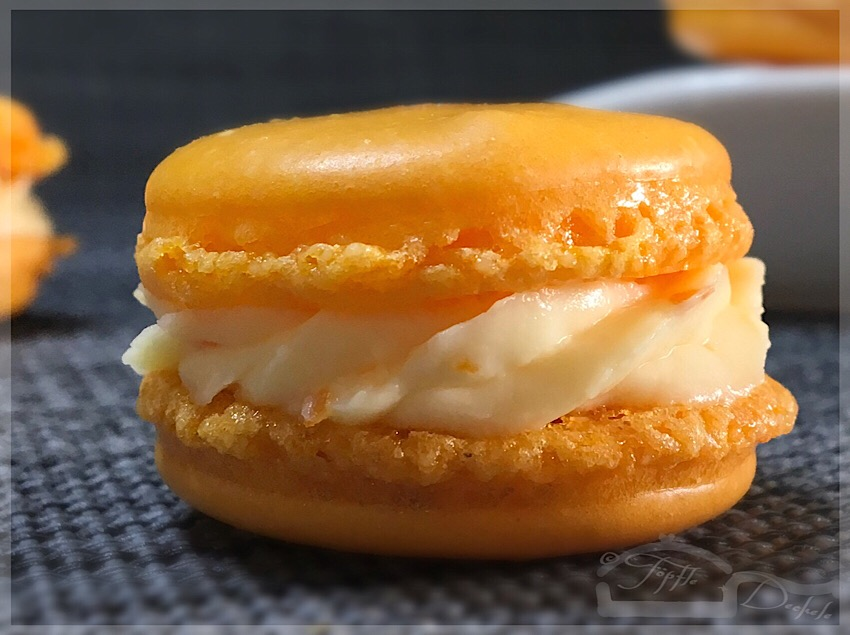 MACARONS ORANGE-MASCARPONE