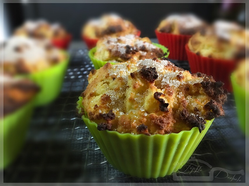 APFEL-ZIMT-BOLLEN MUFFINS low carb